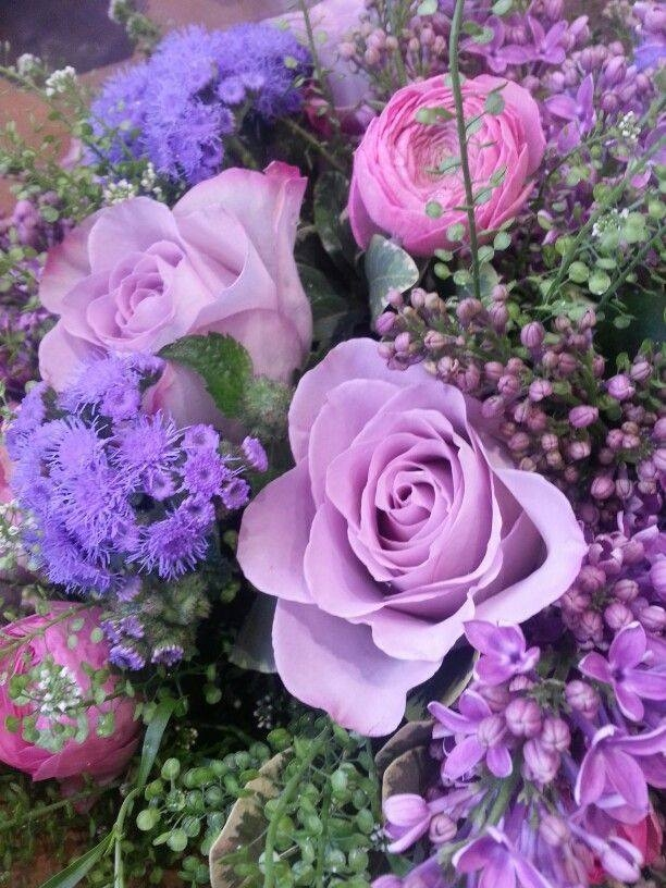 Deep Purple Bouquet