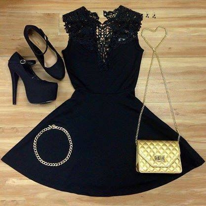Little Black Dress & Accessories Pictures, Photos, and Images for ...