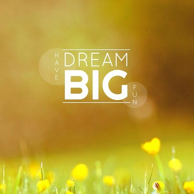 Dream big have fun pictures photos and images for facebook tumblr
