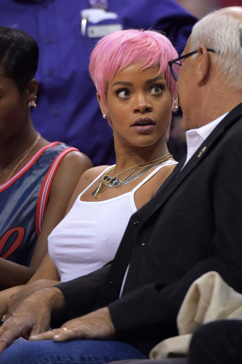 Pink Hair Rihanna Pictures Photos And Images For