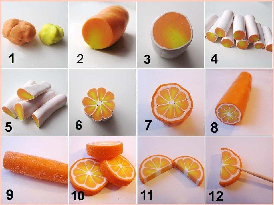 Diy polymer clay orange pictures photos and images for facebook diy polymer clay orange solutioingenieria Images