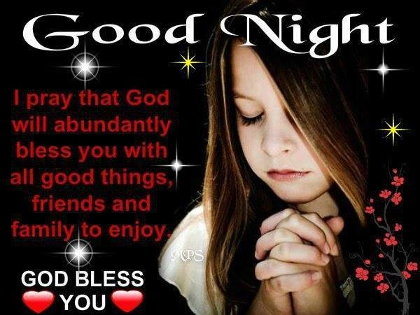 Good Night Blessings Images And Quotes: Good Night Prayer Pictures, Photos, And Images For