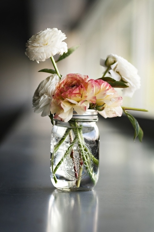 Mason Jar Flowers Pictures Photos And Images For