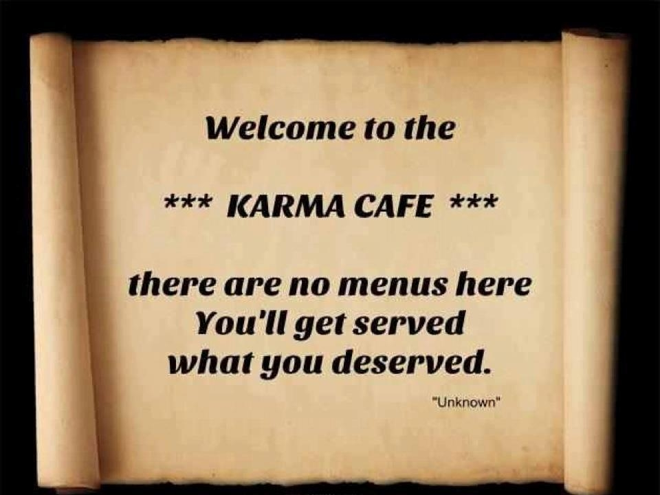 Welcome To The Karma Cafe Pictures Photos And Images For Facebook