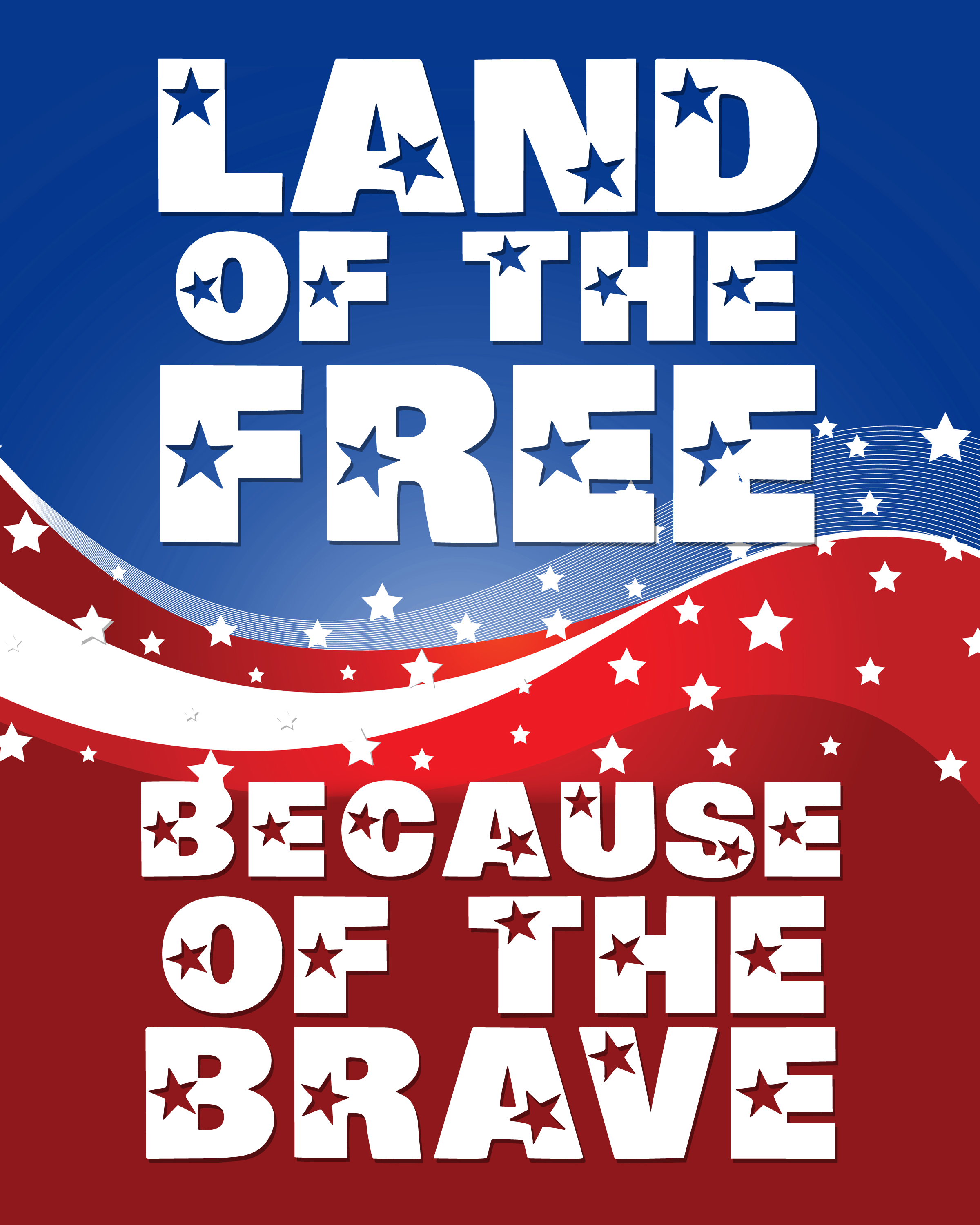 Memorial Day Thank You Quotes: Land Of The Free Because Of The Brave Pictures, Photos