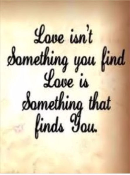 Love Finds You Quote: Love Isn't Something You Find Pictures, Photos, And Images