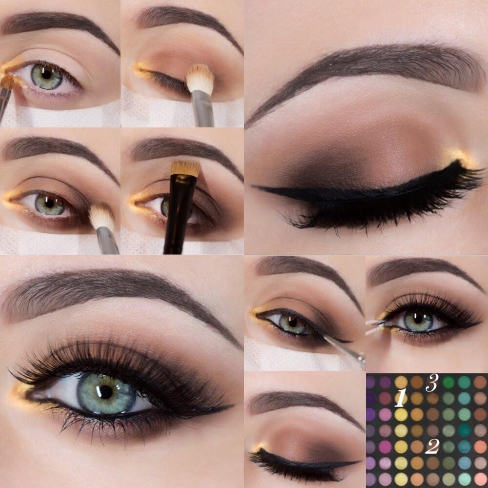makeup for green eyes tumblr - cat eye makeup