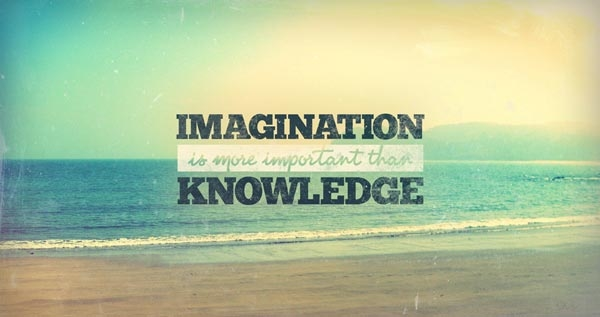 imagination is more important than knowledge pictures
