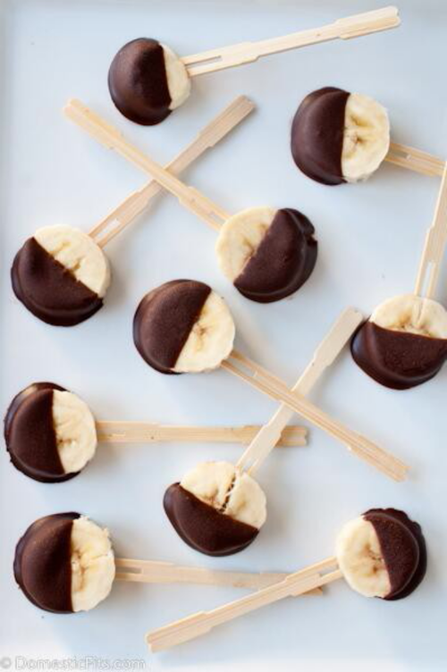 Chocolate Dipped Banana Pops Pictures, Photos, and Images for Facebook ...