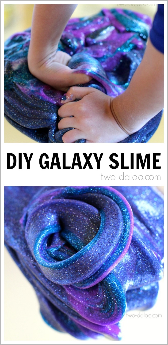 Diy galaxy slime pictures photos and images for facebook for Awesome diy projects
