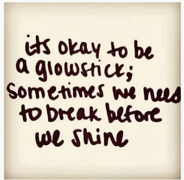 Crush Quotes For Instagram Captions: Its Ok To Be A Glowstick Pictures, Photos, And Images For