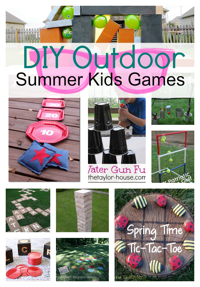 Diy Outdoor Summer Kids Games Pictures Photos And Images