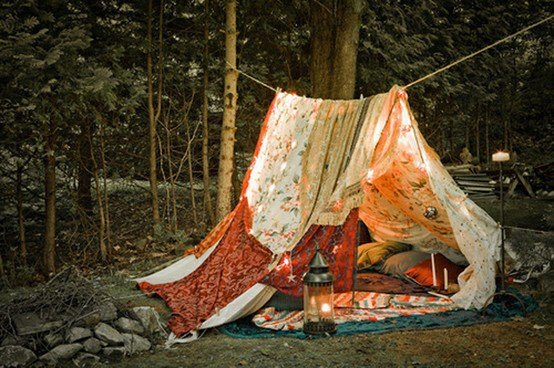 A tent in the woods & A Tent In The Woods Pictures Photos and Images for Facebook ...