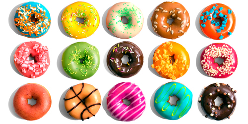 Colorful Yummy Donuts Pictures, Photos, and Images for ...