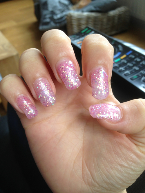 Glitter Gel Nails Pictures, Photos, and Images for Facebook, Tumblr