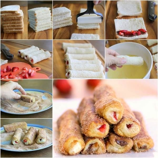 Diy French Roll Ups Pictures Photos And Images For
