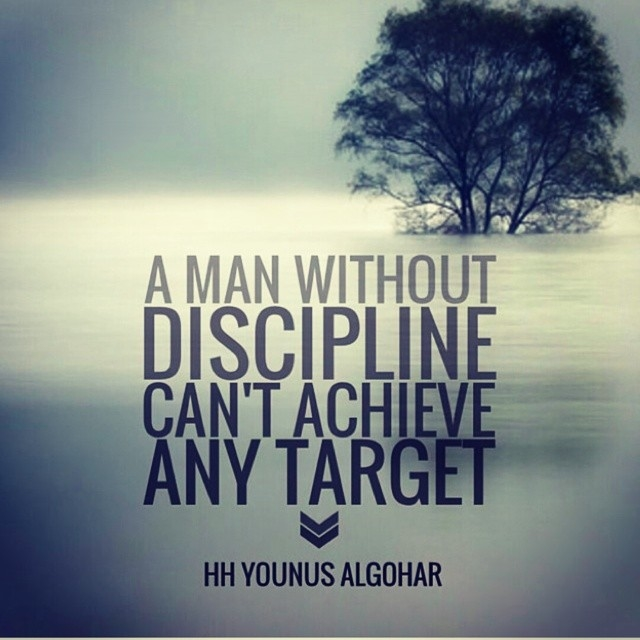 A Man Without Discipline Cant Achieve Any Target Pictures ...