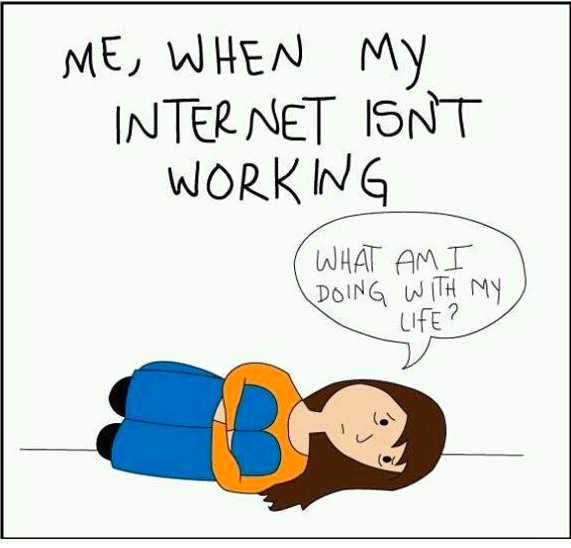 Is The Internet Working >> Me When The Internet Is Not Working Pictures Photos And Images For