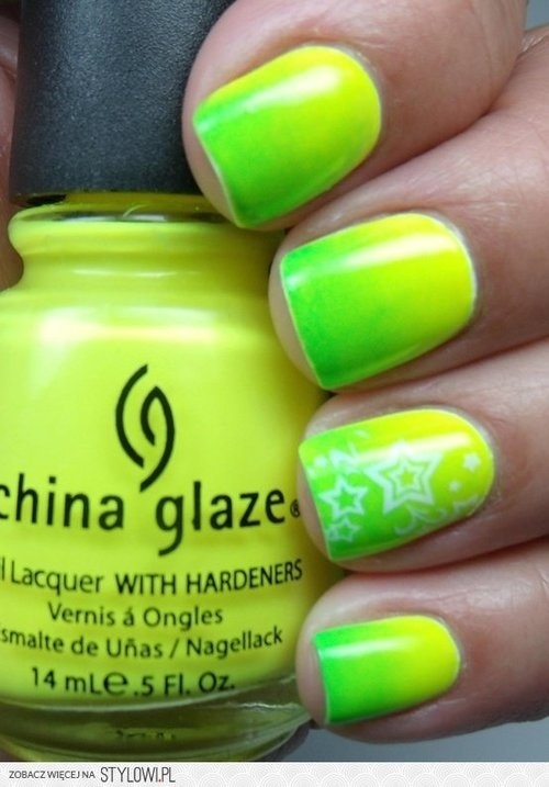 Lime Green Ombre Nails Pictures, Photos, and Images for Facebook ...