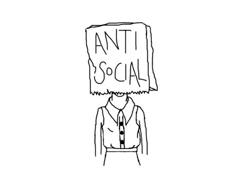 Resultado de imagen para antisocial