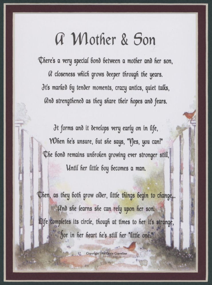 mother son quotes for facebook quotesgram