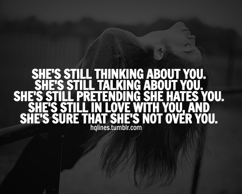 Still Thinking Of You Quotes: Shes Still Thinking About You Pictures, Photos, And Images