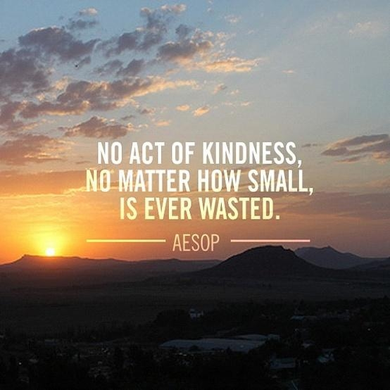 Inspirational Quotes For Kindness Day: No Act Of Kindness Is Ever Wasted Pictures, Photos, And