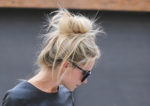 Messy Blonde Bun Pictures, Photos, and Images for Facebook ...  Messy Blonde Bu...