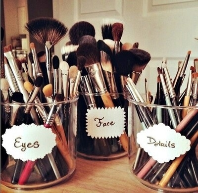 makeup brushes organized pictures photos and images for