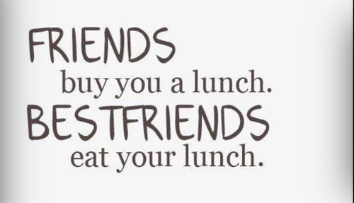 Funny Lunch With Friends Quotes: Bestfriends Eat Your Lunch Pictures, Photos, And Images