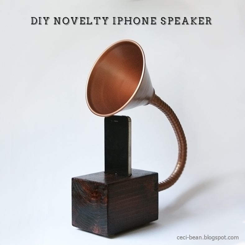 homemade iphone speaker diy novelty iphone speaker pictures photos and images 10784