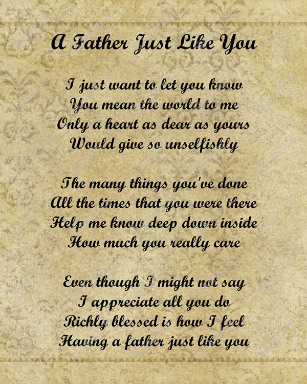 Tribute To Mother In Law Quotes: A Father Just Like You Pictures, Photos, And Images For
