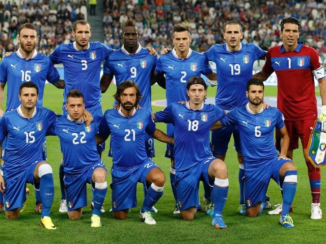Italian World Cup Squad 2018