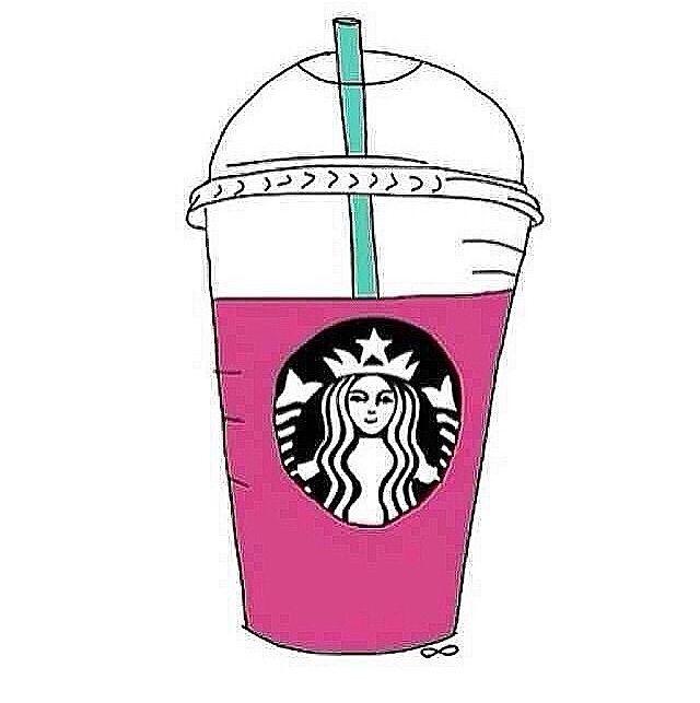 Cartoon Starbucks Cup Tumblr