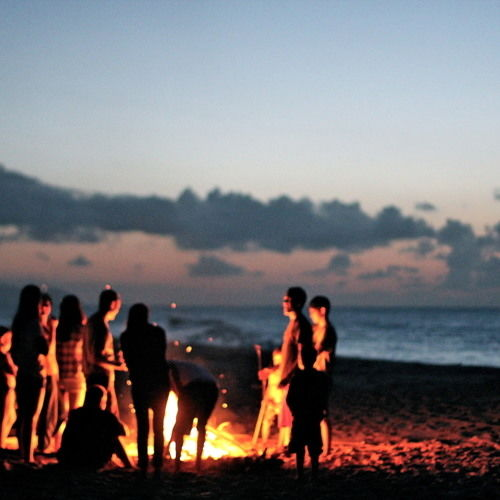 Beach Bonfire Pictures, Photos, And Images For Facebook