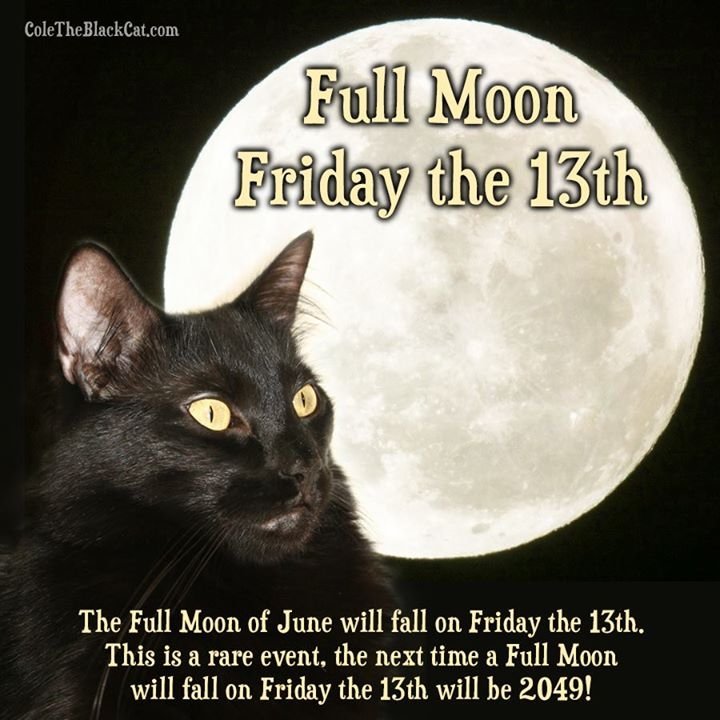 Full Moon Friday the 13th