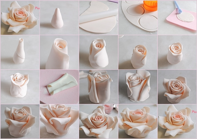 DIY Cake Fondant Roses Pictures, Photos, and Images for  ~ 222742_Cake Decoration Ideas Diy