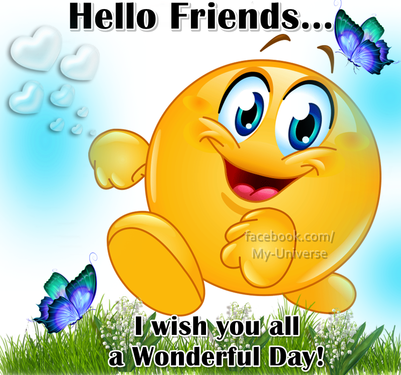 Hello friend how are you all