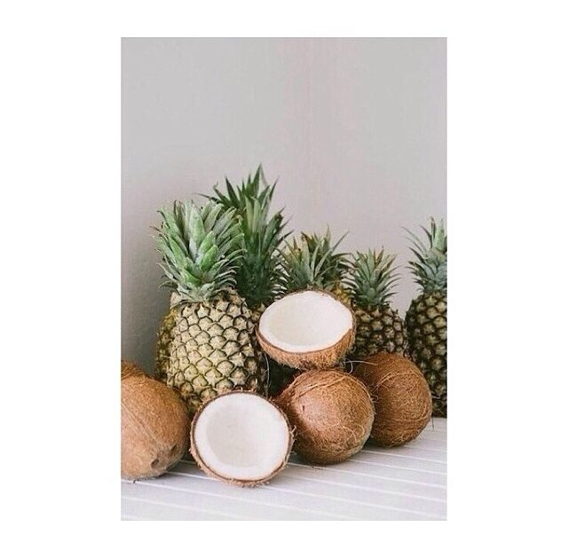 Pineapple And Coconuts Pictures Photos Images For