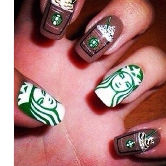 Starbucks Nails Pictures, Photos, And Images For Facebook
