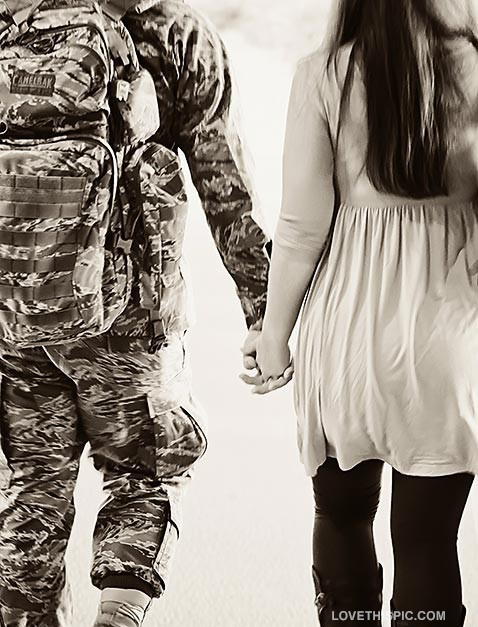 Army Love couple Hd Wallpaper : cute Military Love Quotes. QuotesGram
