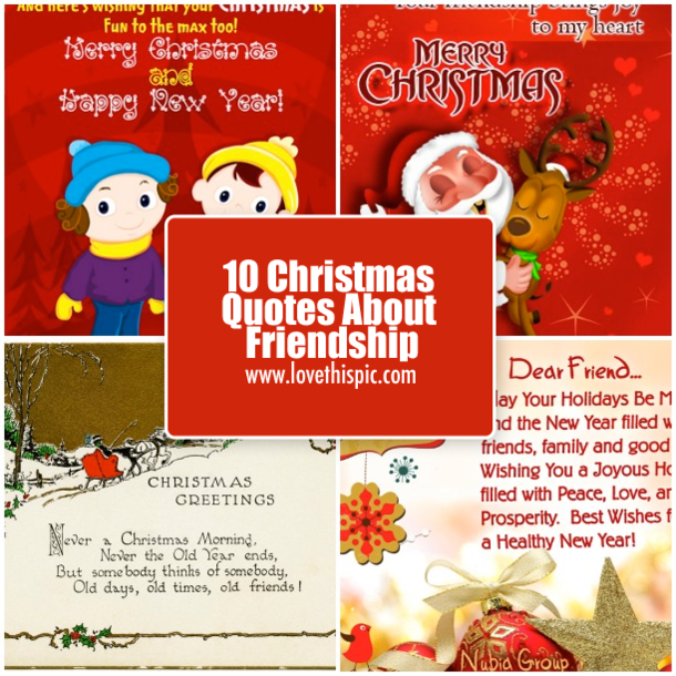 Images of christmas friendship sayings spacehero 10 christmas quotes about friendship m4hsunfo