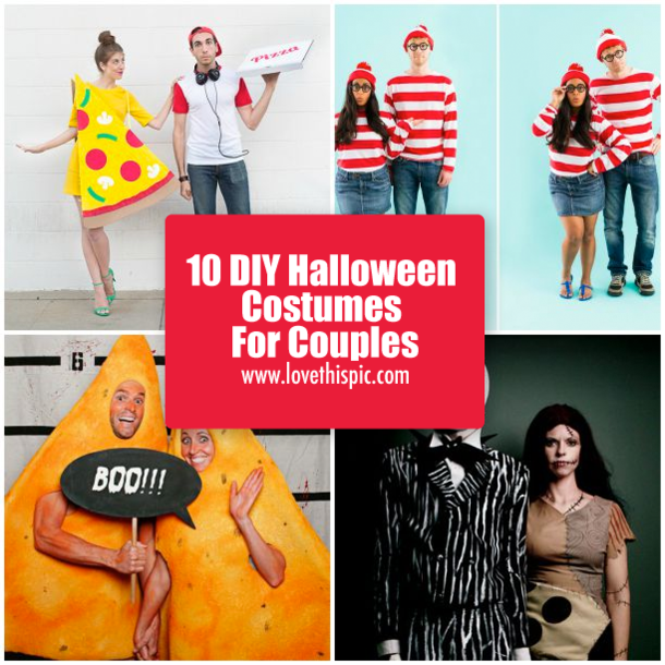 seasonal halloween costumes couples