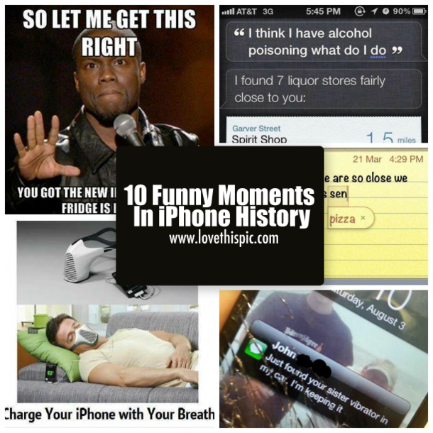 Funny Istory: 10 Funny Moments In IPhone History