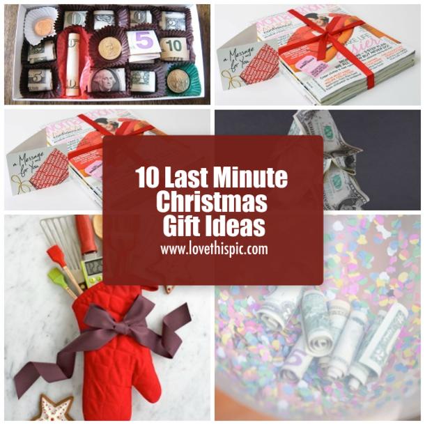 Last Minute Nye Ideas: 10 Last Minute Christmas Gift Ideas