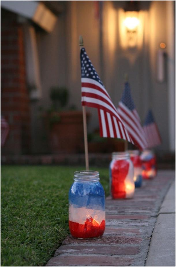 Memorial Day Outdoor Decor