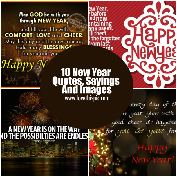 10 new year quotes sayings and images