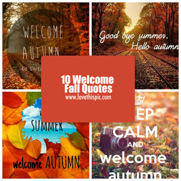 Fall Fashion Quotes: 10 Welcome Fall Quotes