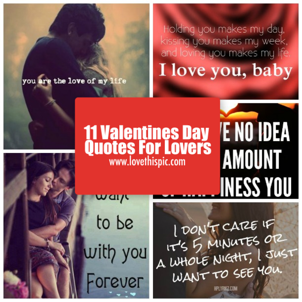 11 Valentines Day Quotes For Lovers