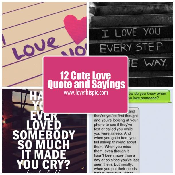 cute sayings for someone you like